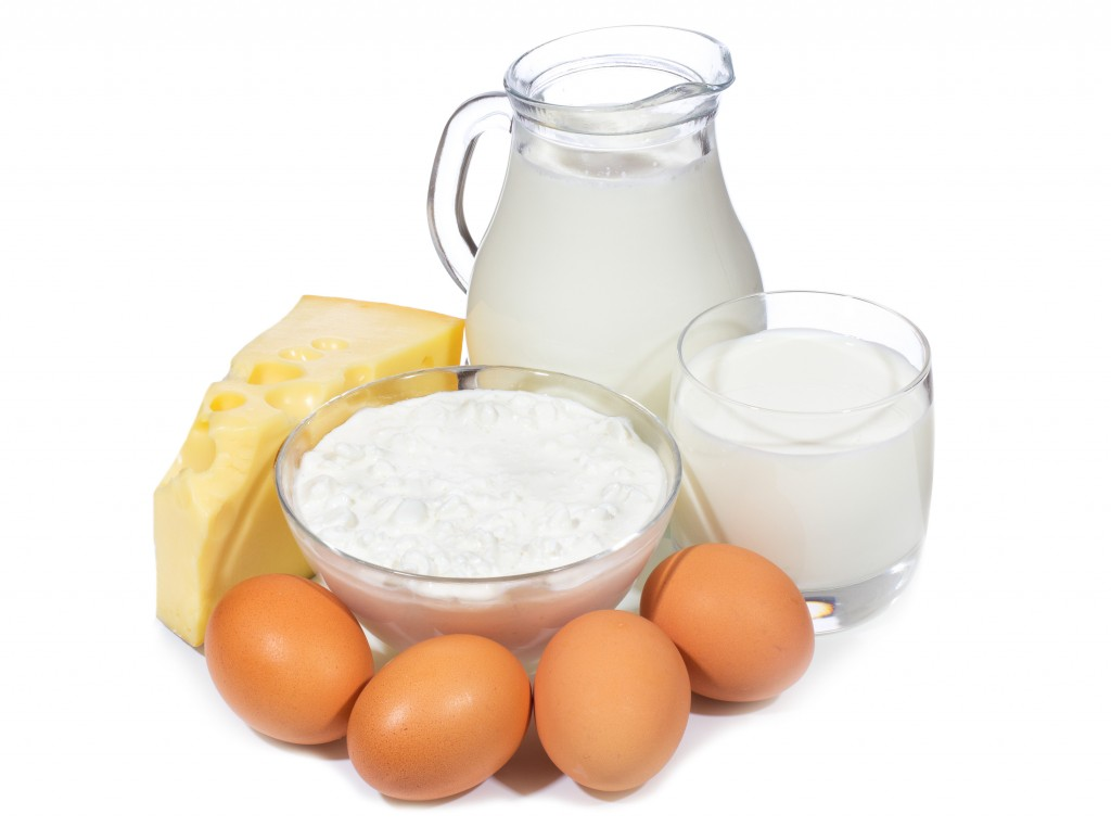 dairy and eggs