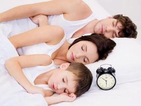 family-left-sleeping